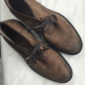 Andrew Marc Worn in Leather Woodside Chukka Boot